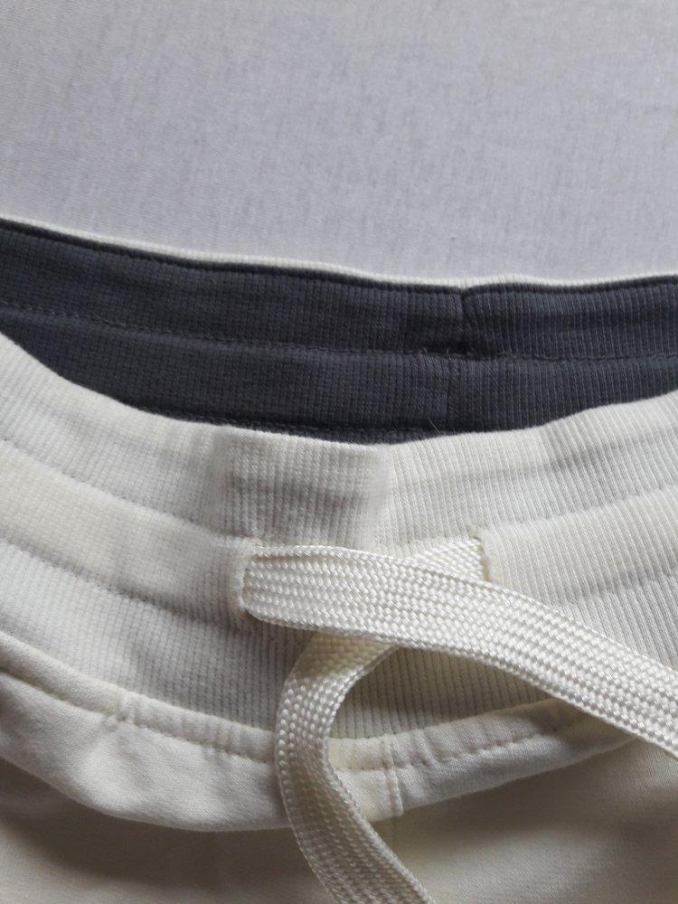 Jogginghose, Sporthose, NEU, Adidas, Gr. S, beige, rote Streifen