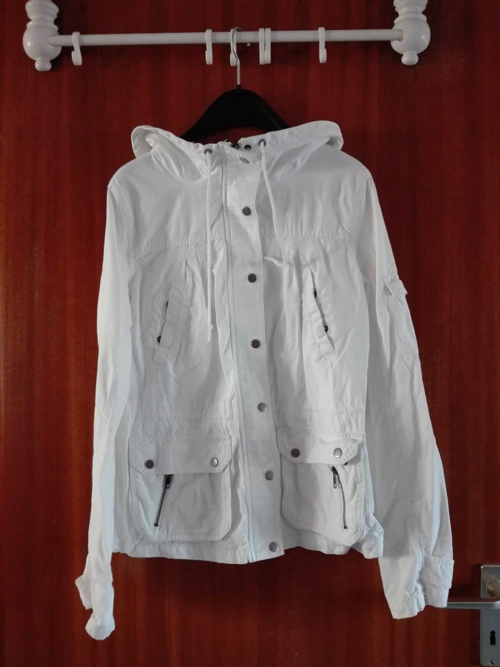 57acd428400885 Weiße Sommerjacke 40 H&M :: Kleiderkorb.de