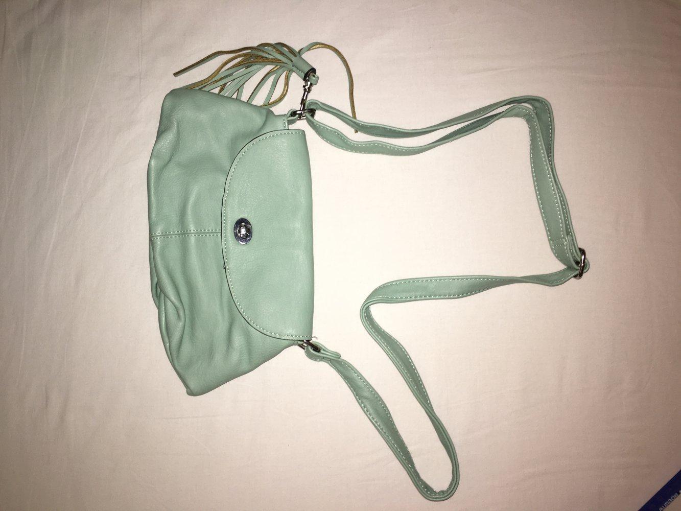 93a09d23bd737 Mintgrüne Mini Handtasche    Kleiderkorb.de