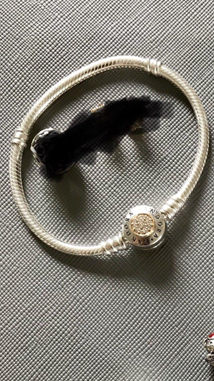 Pandora armband silber 16 cm