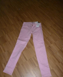 sports shoes 1adb1 f4e54 Swarovski Kette Neue rosa Jeans von TRF (Zara)