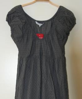e25bb43b07a Kleid Sommerkleid grau C A Victorian Steampunk Hippie Goa Kleidchen S M ...
