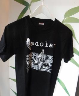 51db2e2d3a4d9 schwarzes bandshirt von Adolar in Größe S ...
