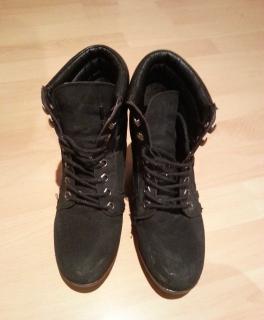 Neue Timberland Keilabsatz Schuhe Kleiderkreisel