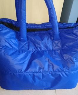 1947d14107cd40 ... Große Tasche von Hallhuber blau