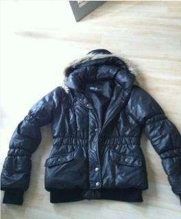 a22555c056e362 Pullover H&M khaki 36 Rüschenärmel Herbst Winterjacke Herbst Daune Fell  schwarz Blogger 36 38