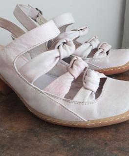 4 ledesandaletten high heels von casadei pink gr 38 5. Black Bedroom Furniture Sets. Home Design Ideas