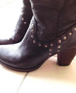 ASOS DESIGN – Koko – Overknee Stiefel in Strickoptik