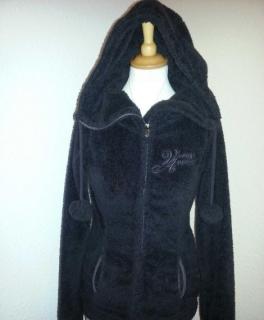 Reserviert.Damen Jacke Bench Gr.M38 in schwarz Stehkragen