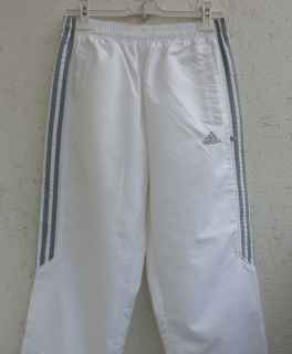 Wei e addidas hose jogginghose leggins for Weisse ziersteine