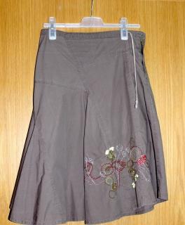 2in1 Strandkleid Sommerkleid Sommerrock Boho Hippie Maxirock Katze 36-42