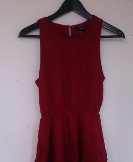 60fd0191498319 Rotes Sommerkleid Ausgefallener Damenmantel