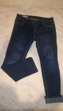 95973d12da73a Dunkelblaue Straight Regular C A Jeans ...
