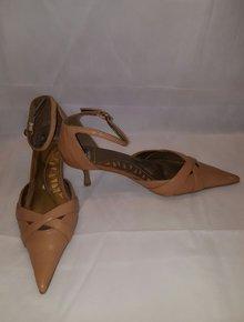 pink Sandalette 39 NEU Peeptoes Gr Coco California High Heel 16cm 36-+ 38