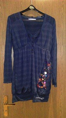 dunkelbraune Tasche von esprit wunderschönes Desigual Kleid c09e1271f2