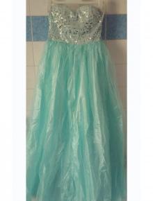 348d3a6ec4b7f8 halblanger Mantel Primark NEU Abendkleid mit Etikett