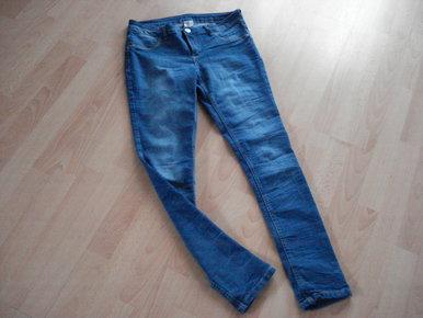 ZuverläSsig No Name Stylische Jeans 38 40 M Hüftjeans Gerades Bein Dunkelblau Neu Met Kleidung & Accessoires Jeans