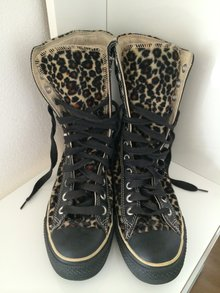 all star converse chucks leopardenmuster. Black Bedroom Furniture Sets. Home Design Ideas