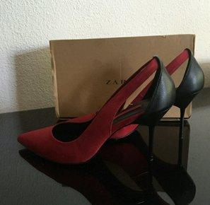 rote high heels pumps. Black Bedroom Furniture Sets. Home Design Ideas