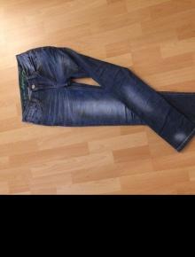 Schwarz Weiß gestreifte Jeans v. Motel Rocks XS Kleiderkreisel
