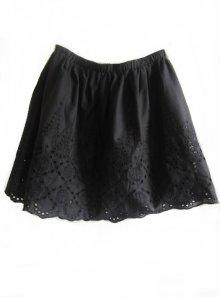 zeitloser Marken Mini ROCK Gr.40 L A-Linie Web elasthische Taillie schwarz